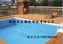 别墅泳池带平台