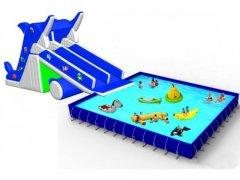 海豚水滑梯