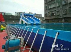 可移动式支架泳池