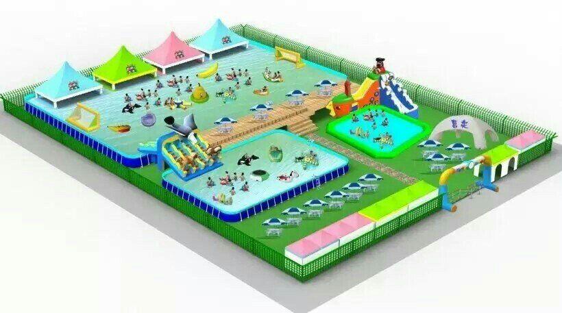 移动水上乐园设备应该如何选择的图片