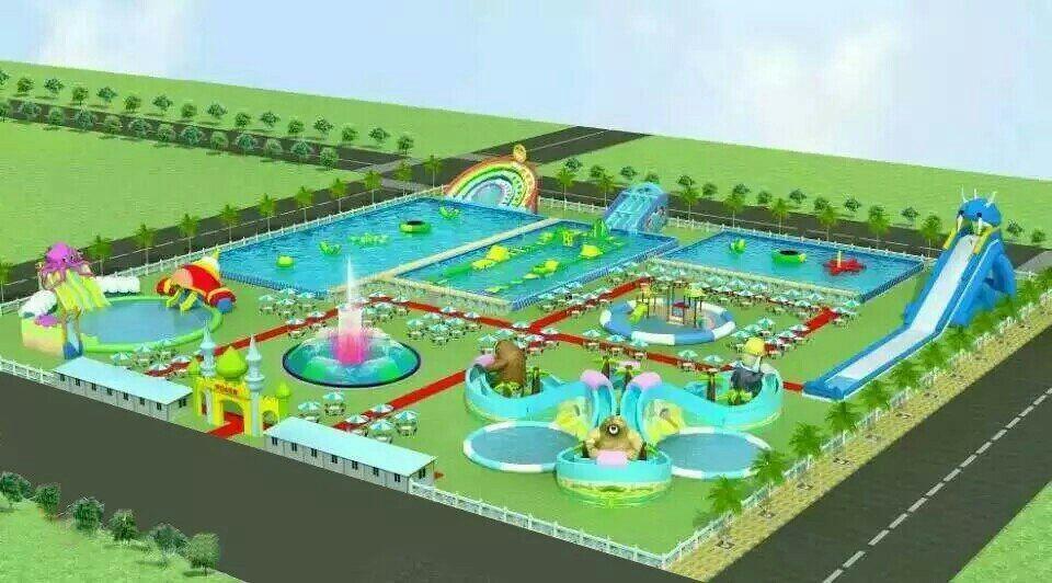 宣漢縣水上樂園總體發展規劃設計公司效果圖設計