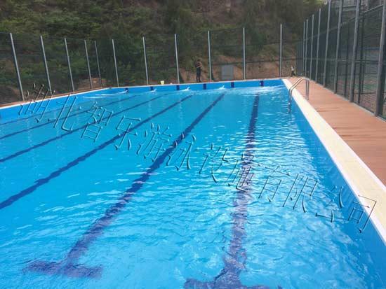 泳池水处理图片