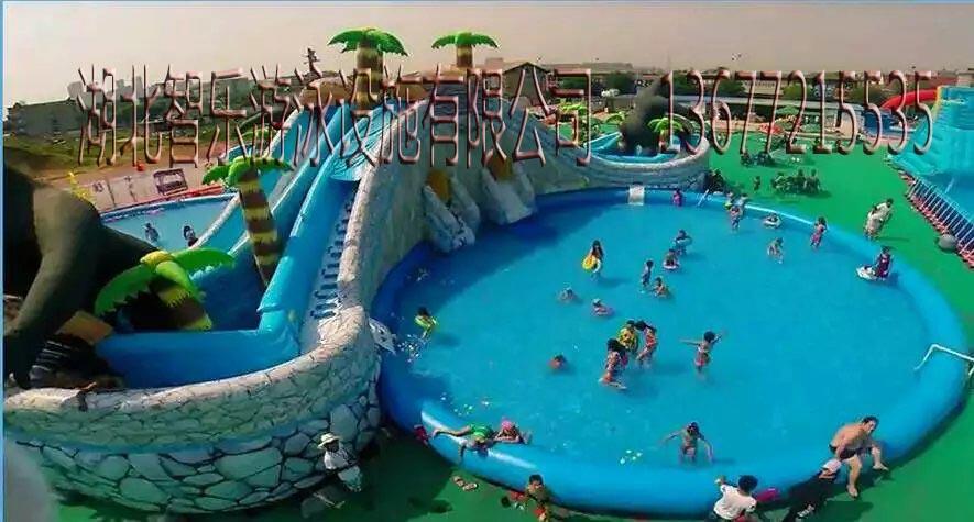 移动水上乐园的图片