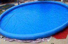 圆形充气游泳池