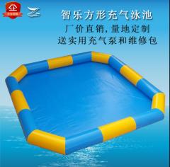 方形充气游泳