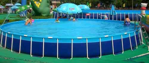 大型支架泳池、水上乐园投资水上乐园 定做支架游泳池