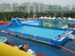 支架式水池室外水上乐园 户外支架游泳池供应商