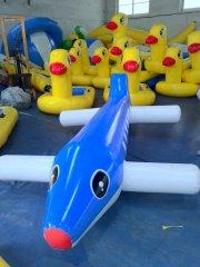 飞机_大型充气玩具,水上乐园,充气滑梯,鲨鱼 加厚支架游泳池租赁