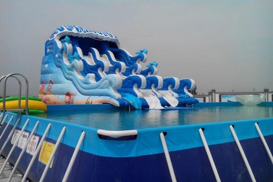 冲浪水滑梯