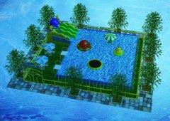 1000平小型水上乐园