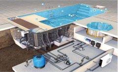 拆装游泳池水处理系统