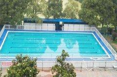 学校适合建拆装式游泳池吗?